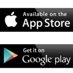 picture of available on App Store and Google Play Store