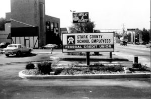 Stark County School Employees FCU building on Cleveland Ave