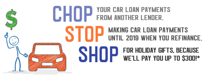 Chop your payments, stop paying until 2019 and shop for the holidays.